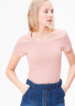 Slim fit basic T-shirt from s.Oliver