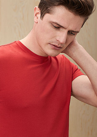 Slim fit high-stretch T-shirt from s.Oliver