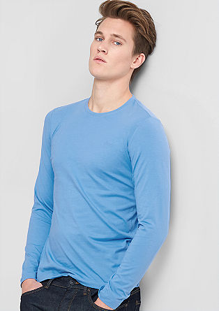 Slim fit long sleeve top from s.Oliver