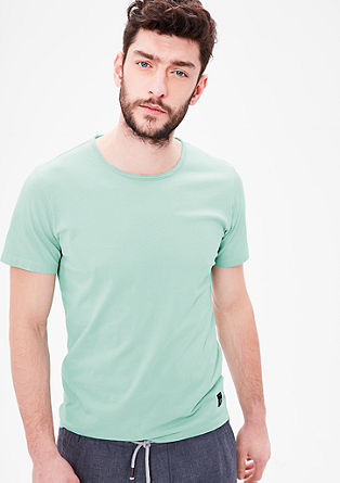 Slim-fitting jersey T-shirt from s.Oliver