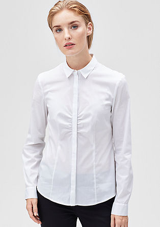 Slim-fitting stretch blouse from s.Oliver