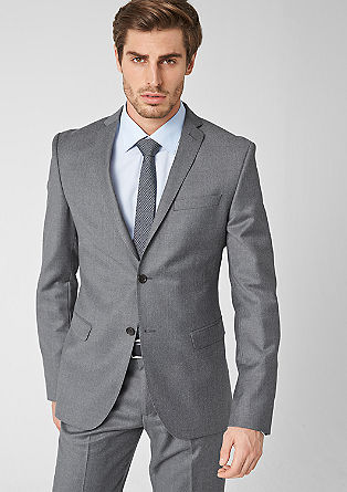 Slim new wool tailored jacket from s.Oliver