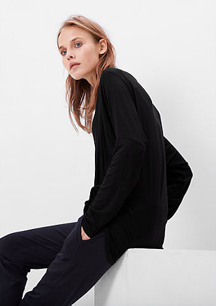 Slinky batwing top from s.Oliver