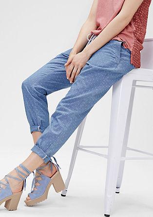 Smart Ankle: Chino mit Bindekordel