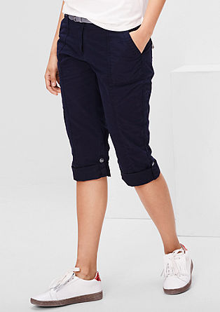 Smart Ankle: Turn-up-Chino