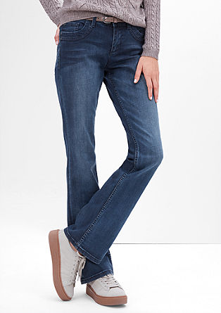 Smart Bootcut: flared stretch jeans from s.Oliver