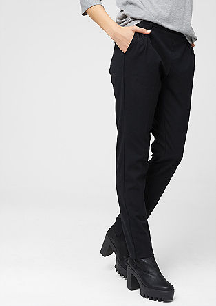 Smart Chino: elegant cloth trousers from s.Oliver