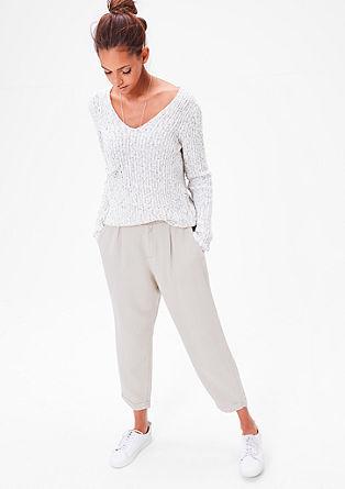 Smart Chino: ležérní látkové kalhoty