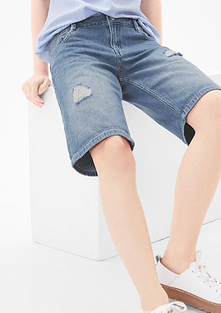 Smart Short: Jeans-Bermuda