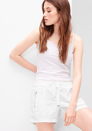 Smart Short: linen blend shorts from s.Oliver