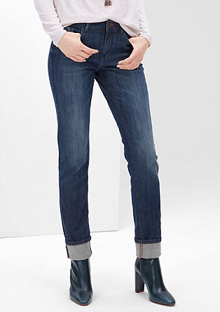 Smart Slim: dark denim from s.Oliver
