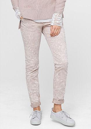 Smart Slim: hlače v videzu batika