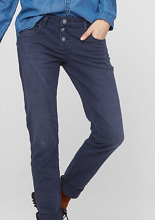 Smart Slim: Jeans mit Abnähern