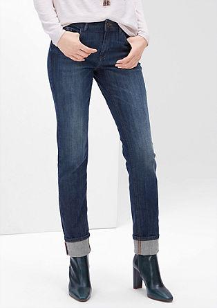 Smart Slim: Temne jeans hlače