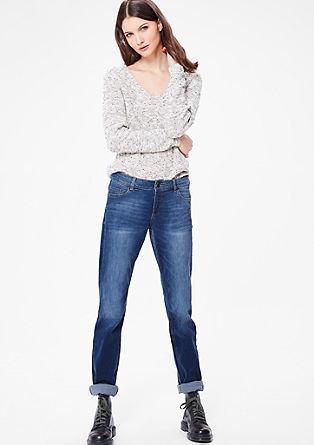 Smart Straight: Anschmiegsame Jeans