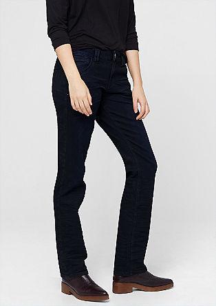 Smart straight: dark jeans