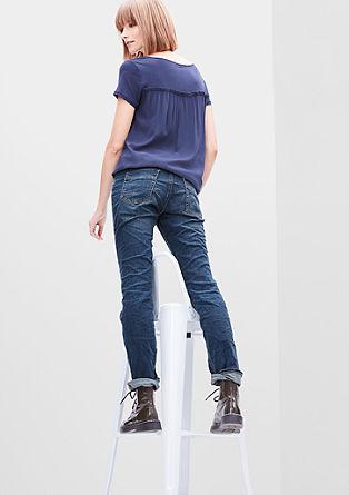 Smart Straight: jeans hlače s petimi žepi