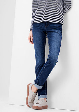 Smart straight: jeans met veel stretch