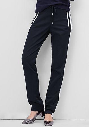 Smart Straight: ohlapne satenaste hlače