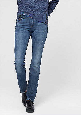 Smart Straight: Used-Jeans