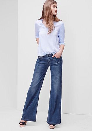 Smart Wide: lepo podajoče jeans hlače