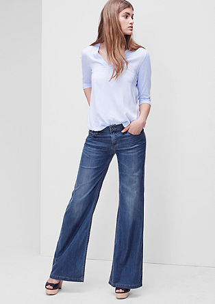 Smart wide: Soepele jeans