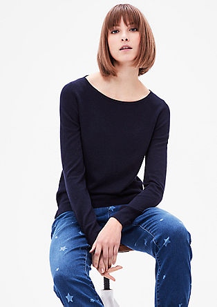 Smooth fine knit jumper from s.Oliver