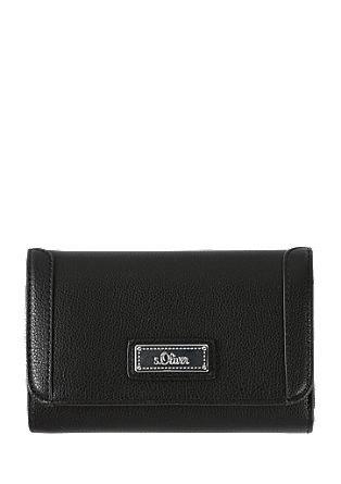 Smooth imitation leather purse from s.Oliver