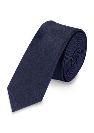 Smooth silk tie from s.Oliver