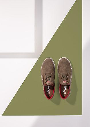 Sneaker im Leder-Look