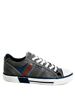 Sneakers met dynamische strepen