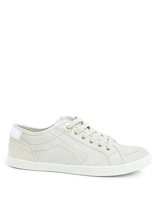 Sneakers met metallic details