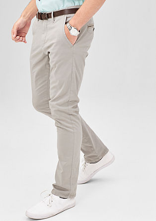 Sneck Slim: Chino mit Gürtel