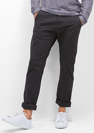 Sneck Slim: herringbone chinos  from s.Oliver