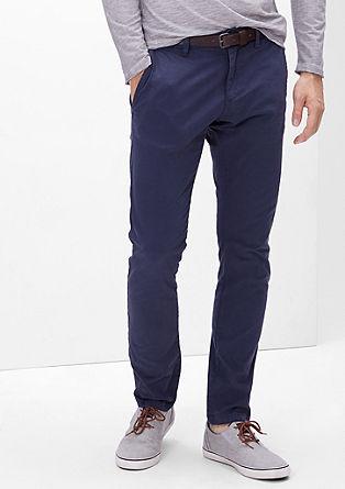Sneck Slim: hlače Chino s pasom