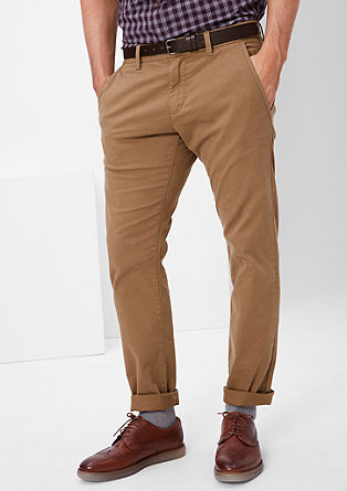 Sneck Slim: Stretch-Chino
