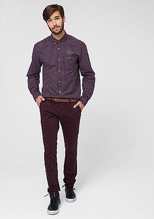 Sneck Slim: Stretch-Hose mit Gürtel