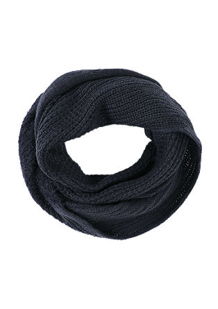 Snood in a mix of textures from s.Oliver