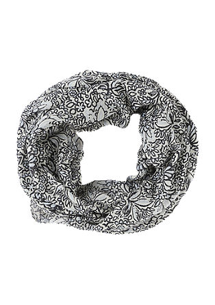 Snood with a floral pattern print from s.Oliver