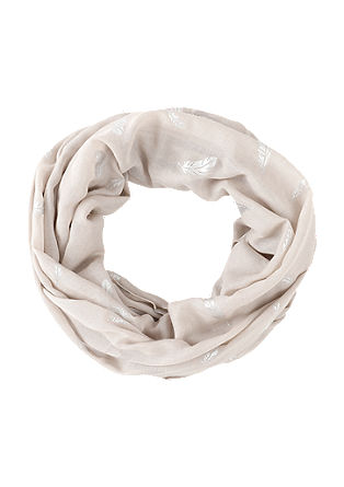 Snood with a metallic pattern from s.Oliver