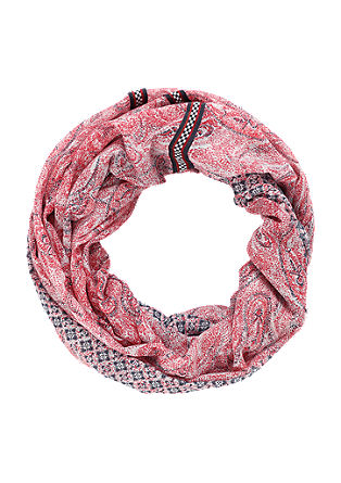 Snood with a paisley pattern from s.Oliver