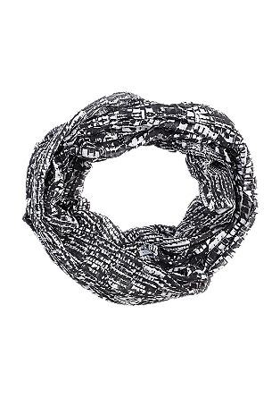 Snood with a textured pattern from s.Oliver
