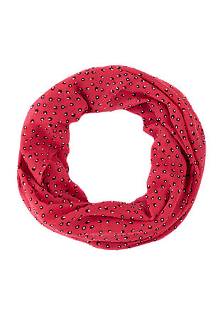 Snood with all-over print from s.Oliver