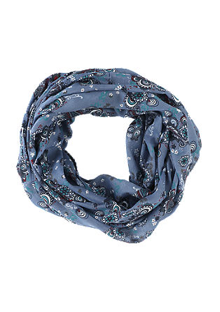 Snood with an ornamental pattern from s.Oliver