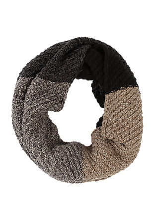 Snood with block stripes from s.Oliver
