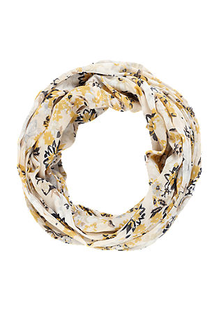 Snood with floral pattern from s.Oliver