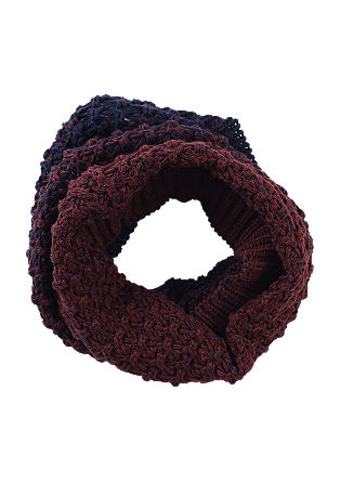 Snood with graduated colour from s.Oliver