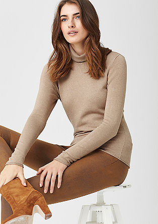 Snug polo neck jumper from s.Oliver