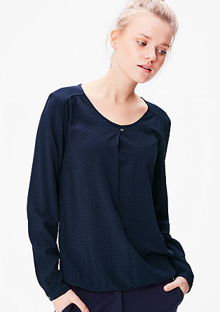 Soepel vallend blouseachtig shirt