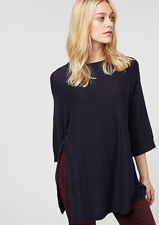 Soft knit batwing jumper from s.Oliver